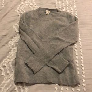 Grey teddy sweater